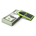 Business rent cash calculator money