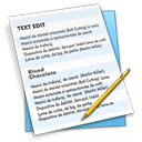 Text editor paper good bold