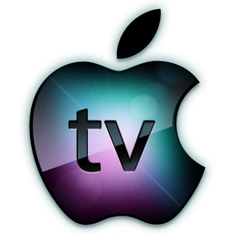 Apple logo tv