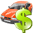 Auto rent car vehicle taxi transport