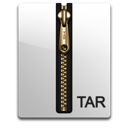 Tar compressed gold file