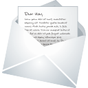 Mail email letter envelope communication contact
