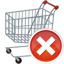 Shopping basket shoppingcart cart buy remove