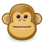 Gnome brown face monkey 64 animals