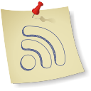 Rss feed newsfeed social logo
