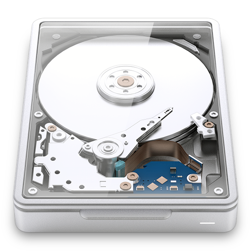 Internal harddrive disk harddisk drive storage clear