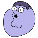 Peter griffin blueberry head