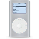 Ipod mini grey player mp3