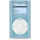 Ipod mini blue player mp3