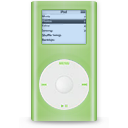 Ipod mini green player mp3