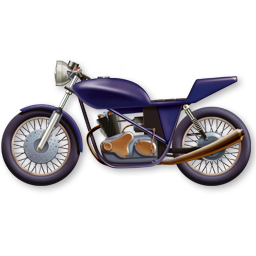 Motorbike Scooter Group Motobike Bicycle Vehicules 128px Icon Gallery