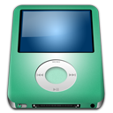 Ipod nano lime player alt mp3