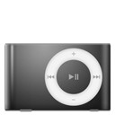 Ipod shuffle black mp3 player