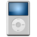 Ipod silver mp3 player