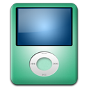 Ipod nano lime player mp3
