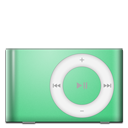 Ipod shuffle green mp3 player