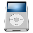 Ipod silver alt mp3 player
