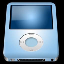 Ipod Nano Baby Blue Mp3 Player Alt Hardwaremx 256px Icon Gallery