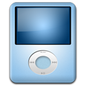 Ipod nano baby player mp3 blue