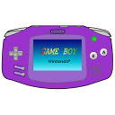 Gameboy advance purple gba yellow nintendo