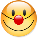 Fun smiley smile justin bieber clown