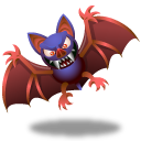 Bat lava lamp bat icon