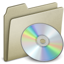 Lightbrown cd disc disk
