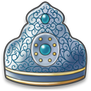 Arabian royal crown