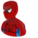 Spider man male guy boy user person customer face bagas
