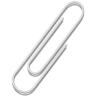 Paperclip sticky notes