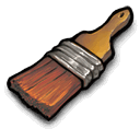 Paintbrush brush