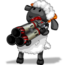 Player rocket launcher