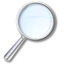 Zoom magnify magnifying search magnifier loupe find glass look eye