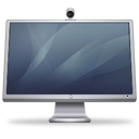 Cinema monitor display isight graphite hardware