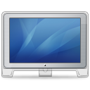 Monitor cinema display old front blue hardware