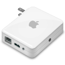 Airport express base station with