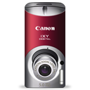 Canon ixy digital red