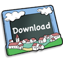 Download down decrease arrow