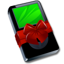 Ipod black present gift player mp3 christmas birthday