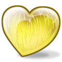 Melon fruit meal food yellow heart