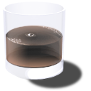 Cola cup brown