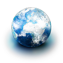 Browser earth network world planet