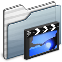 Movie video film movies folder graphite