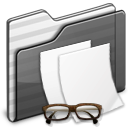 Document doc file documents folder paper black