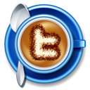 Cappucino cup twitter coffee