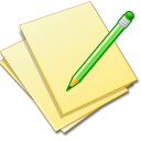Doc file document documents yellow update paper edit pencil