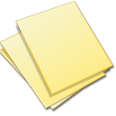 Doc file document documents yellow paper stack