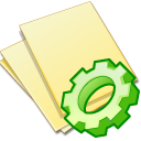 File document doc documents yellow exec paper