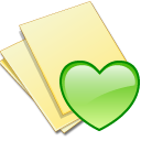 Yellow documents doc fav paper file favourite document