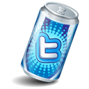 Soda can twitter
